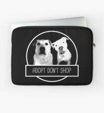 ADOPT DONT SHOP Laptop Sleeve