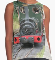 Here She Comes! Contrast Tank