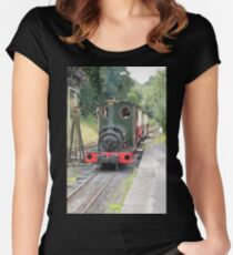 Here She Comes! Women's Fitted Scoop T-Shirt