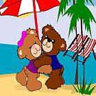 Teddy's At the beach( 903  Views) by aldona