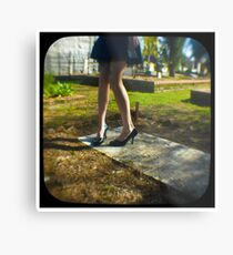 dancing on the grave Metal Print