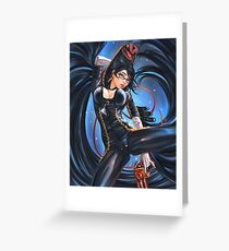 Bayonetta. Greeting Card