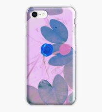 Water lily in the lake of tenderness iPhone Case/Skin