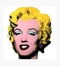 Warhol Monroe Single Photographic Print