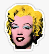 Warhol Monroe Single Sticker