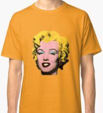 Warhol Monroe Single Classic T-Shirt