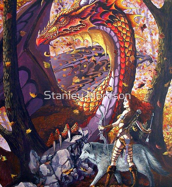 Highland Huntress by Stanley Morrison