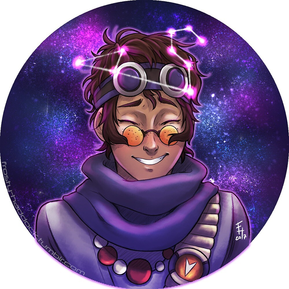 Space Boy by Mikipin