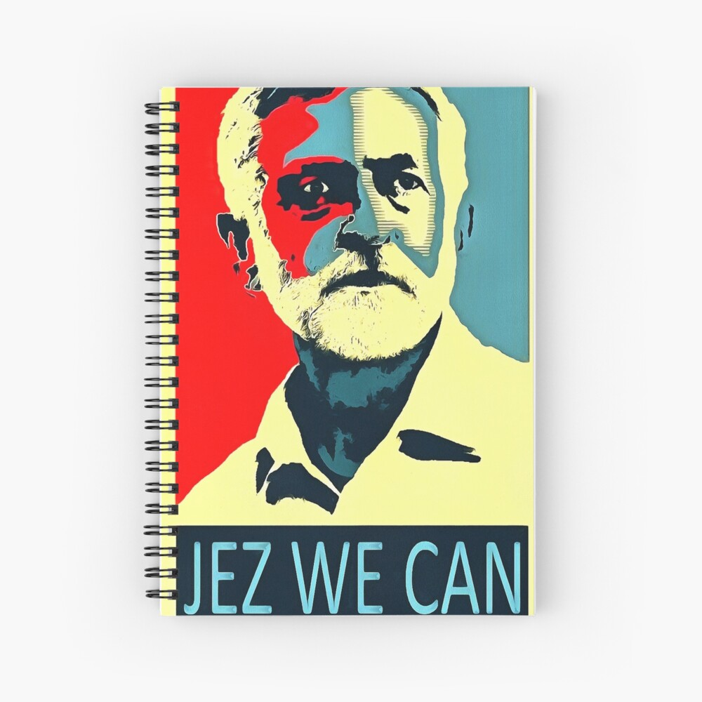 Jeremy Corbyn Jez We Can Cuaderno de espiral