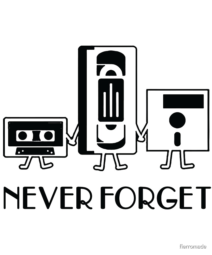 NEVER FORGET - Floppy Disk.. by fierromade