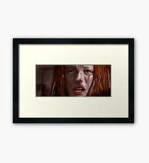 "Milla Jovovich ""Leeloo"" Framed Print"