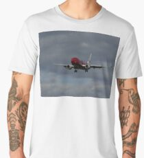 Another flight coming in to launceston airport Men's Premium T-Shirt