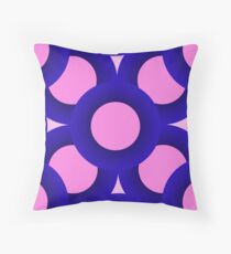 Pink Life Throw Pillow