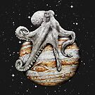 Celestial Cephalopod by jamesormiston