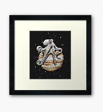 Celestial Cephalopod Framed Print