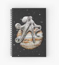 Celestial Cephalopod Spiral Notebook