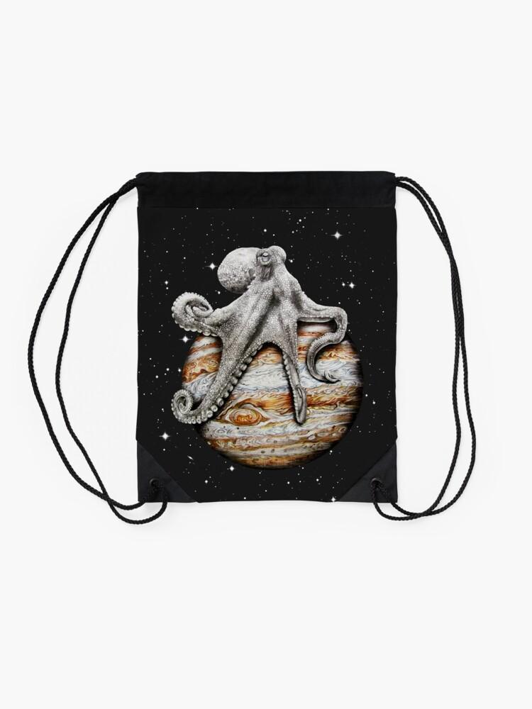 Alternative Ansicht von Himmlischer Cephalopod Turnbeutel