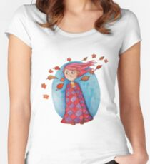 Oh baby it's cold outside.. Women's Fitted Scoop T-Shirt