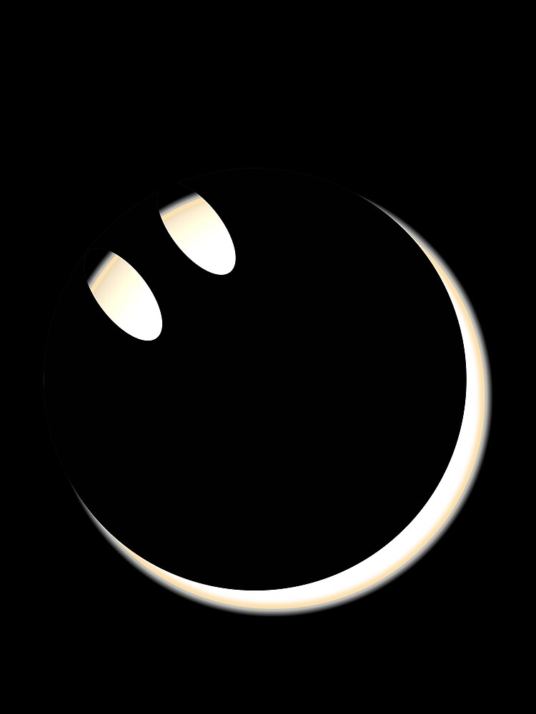 Total Solar Eclipse 2017 - The Smiling Side Of The Moon by pathos-design