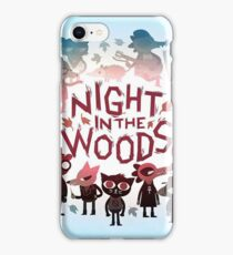 night in the woods iPhone Case/Skin