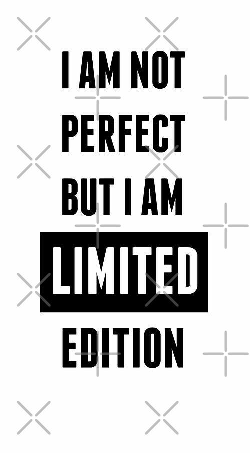 Not Perfect by UnicornPrintsUK