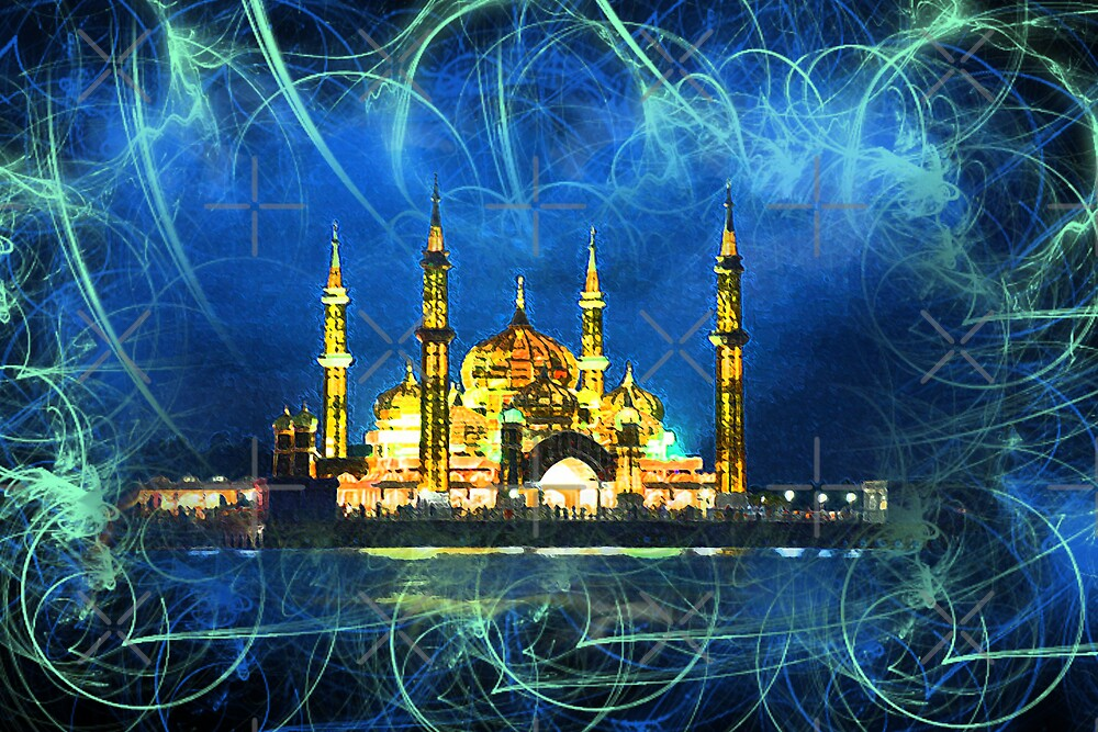 the crystal mosque by Brandi Alshahin
