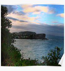 Bilgola - Sydney Beaches - THe HDR Series, Sydney Australia Poster
