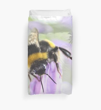 Bee-ing watchful Duvet Cover