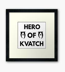 Hero of Kvatch Framed Print