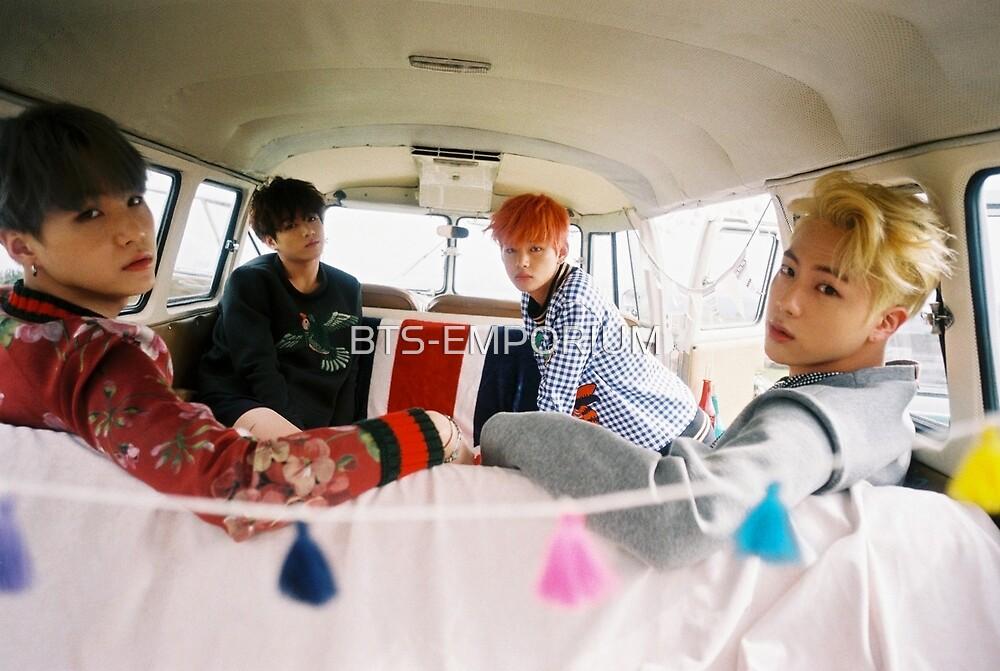 BTS YOUNG FOREVER JIN V JUNGKOOK & SUGA by BTS-EMPORIUM