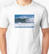 Bodyboarder in action Unisex T-Shirt