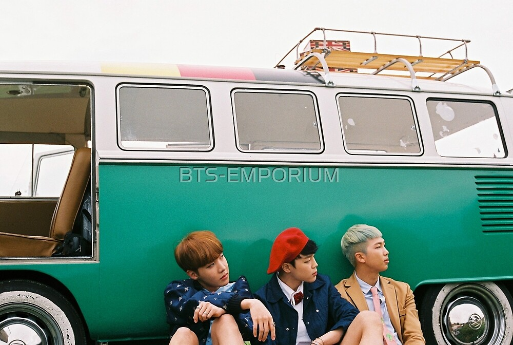 BTS YOUNG FOREVER J-HOPE JIMIN & RAP MONSTER by BTS-EMPORIUM