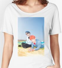 BTS YOUNG FOREVER SUGA & V Women's Relaxed Fit T-Shirt