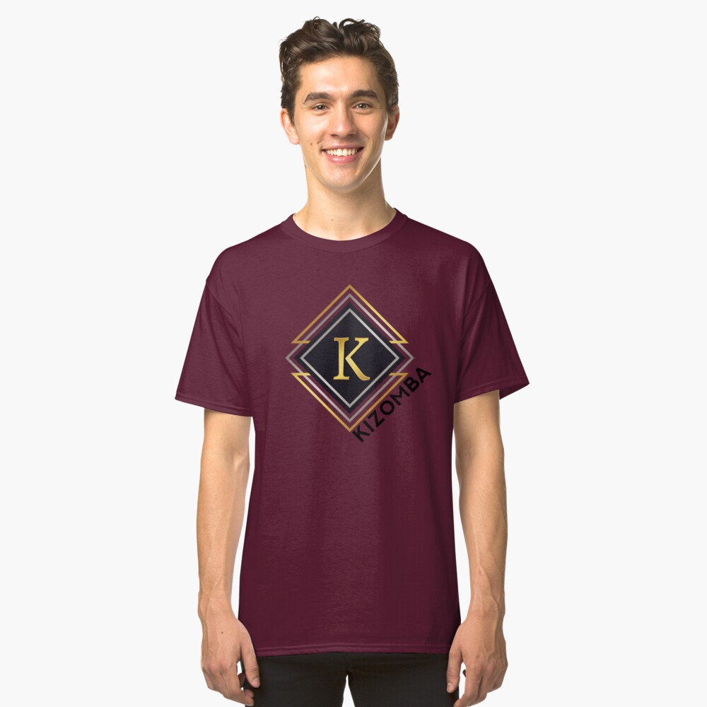 K for kizomba Classic T-Shirt Front
