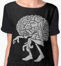 Braindead. Women's Chiffon Top