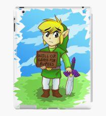 Looking For Work - Legend of Zelda iPad Case/Skin