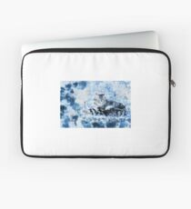 Beautiful Blue Cat Laptop Sleeve