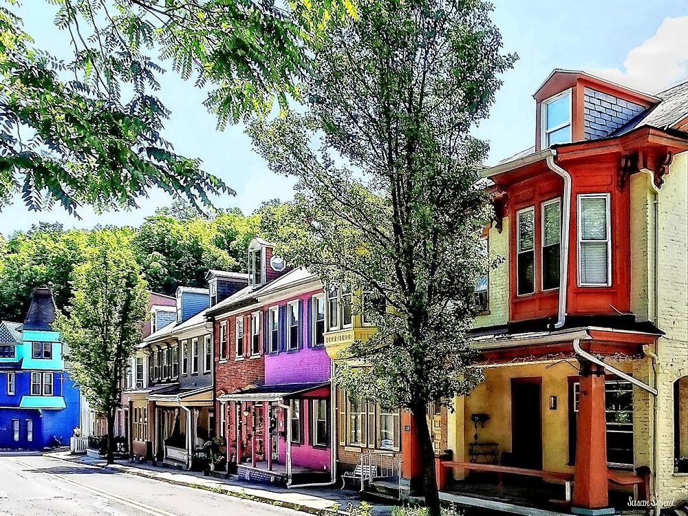 Jim Thorpe PA - Quaint Street by Susan Savad