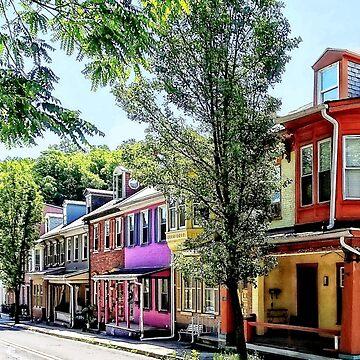 Jim Thorpe PA - Quaint Street by SudaP0408