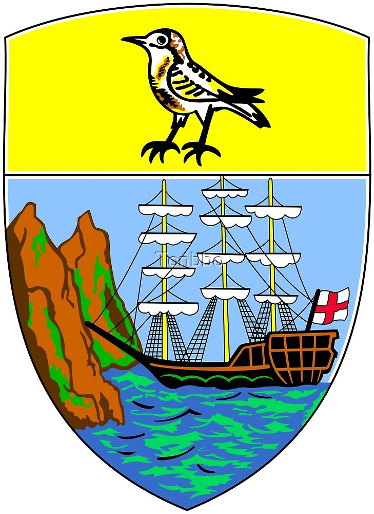 Coat of Arms of Saint Helena by Tonbbo