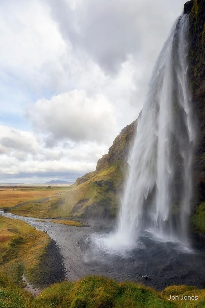 Seljalandsfoss Waterfall, Iceland by Jon Jones