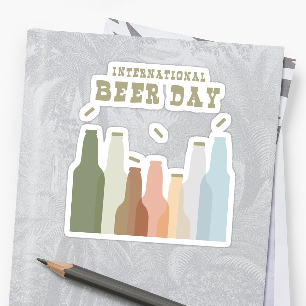International Beer Day - Cheers for the World by thewishdesigns