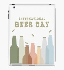 International Beer Day - Cheers for the World iPad Case/Skin