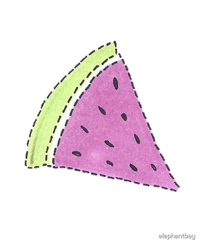 Watermelon Slice Illustration by elephantbay