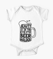 Beer Day - Beauty is in the Eye of Beer Holder Kids Clothes