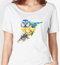 Tiny Colorful Bird Women's Relaxed Fit T-Shirt