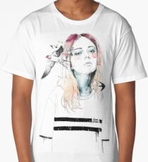 TAKE OUT YOUR BIRDS Long T-Shirt