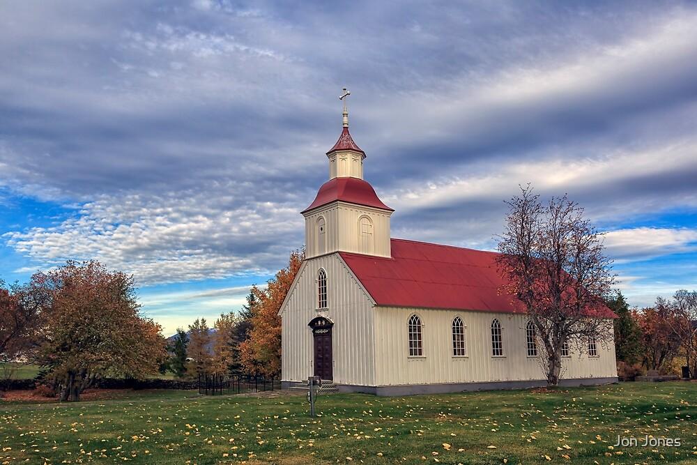 Icelandic Church by Jon Jones