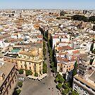 Summer Rooftops in Seville Spain by Georgia Mizuleva