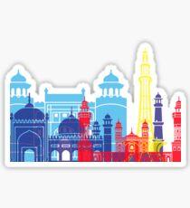 Lahore skyline pop  Sticker